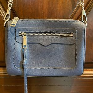 Rebecca Minkoff Avery Nubuck Leather Crossbody Bag